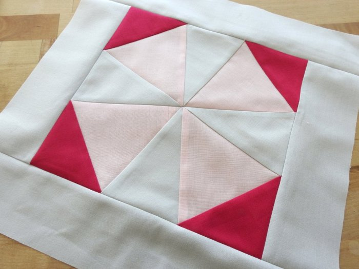 Modern Plus Sampler Paper Pieced Areas - Kaleidoscope Block