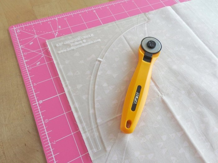 Quarter Arch Tutorial - Cut Background Fabric