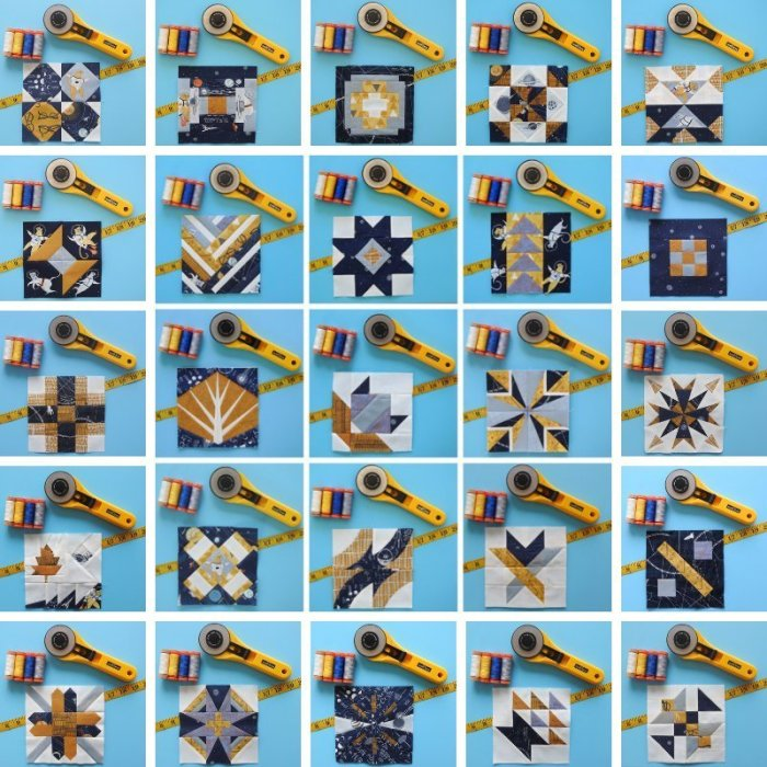 25 Splendid Sampler II Blocks