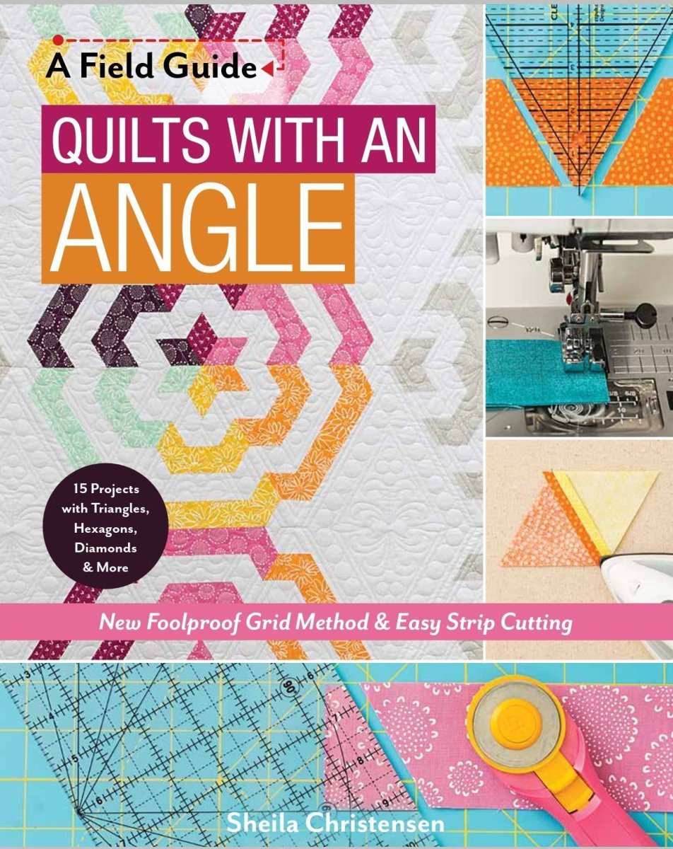 Quilts with an Angle Blog Hop and Giveaway