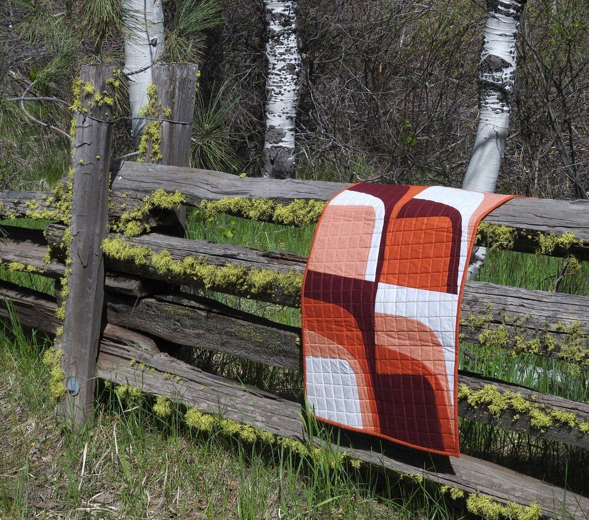 Rust Mini Quilt