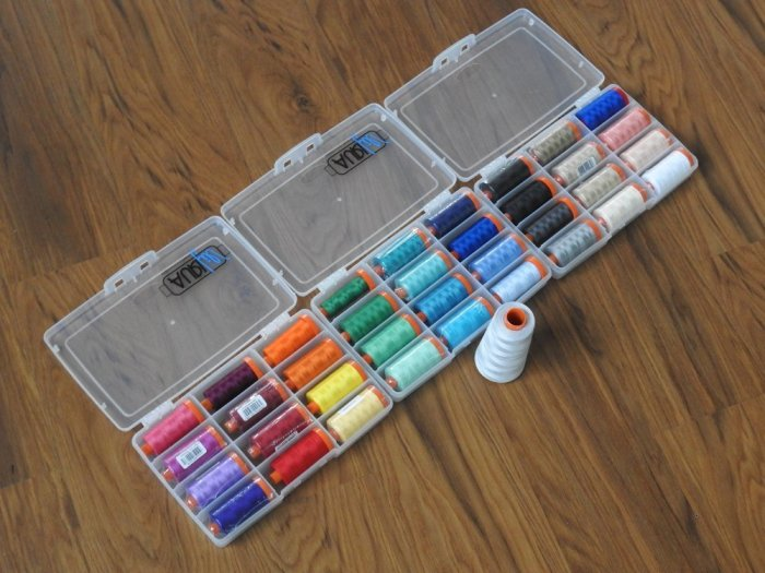 Selected and Packed Aurifil Thread