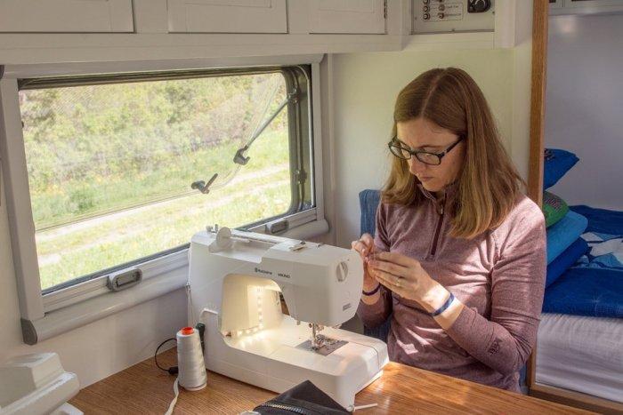 Sparkler Mini Quilt Sewing