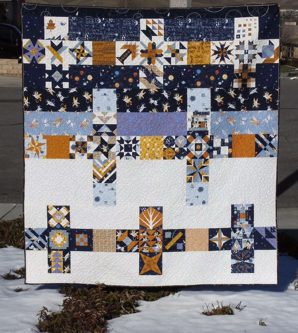 Splendid Sampler 2 Finished Quilt