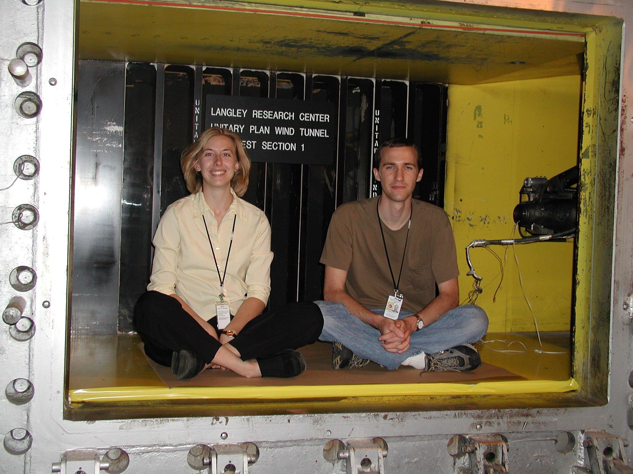 NASA Unitary Wind Tunnel Cross Section