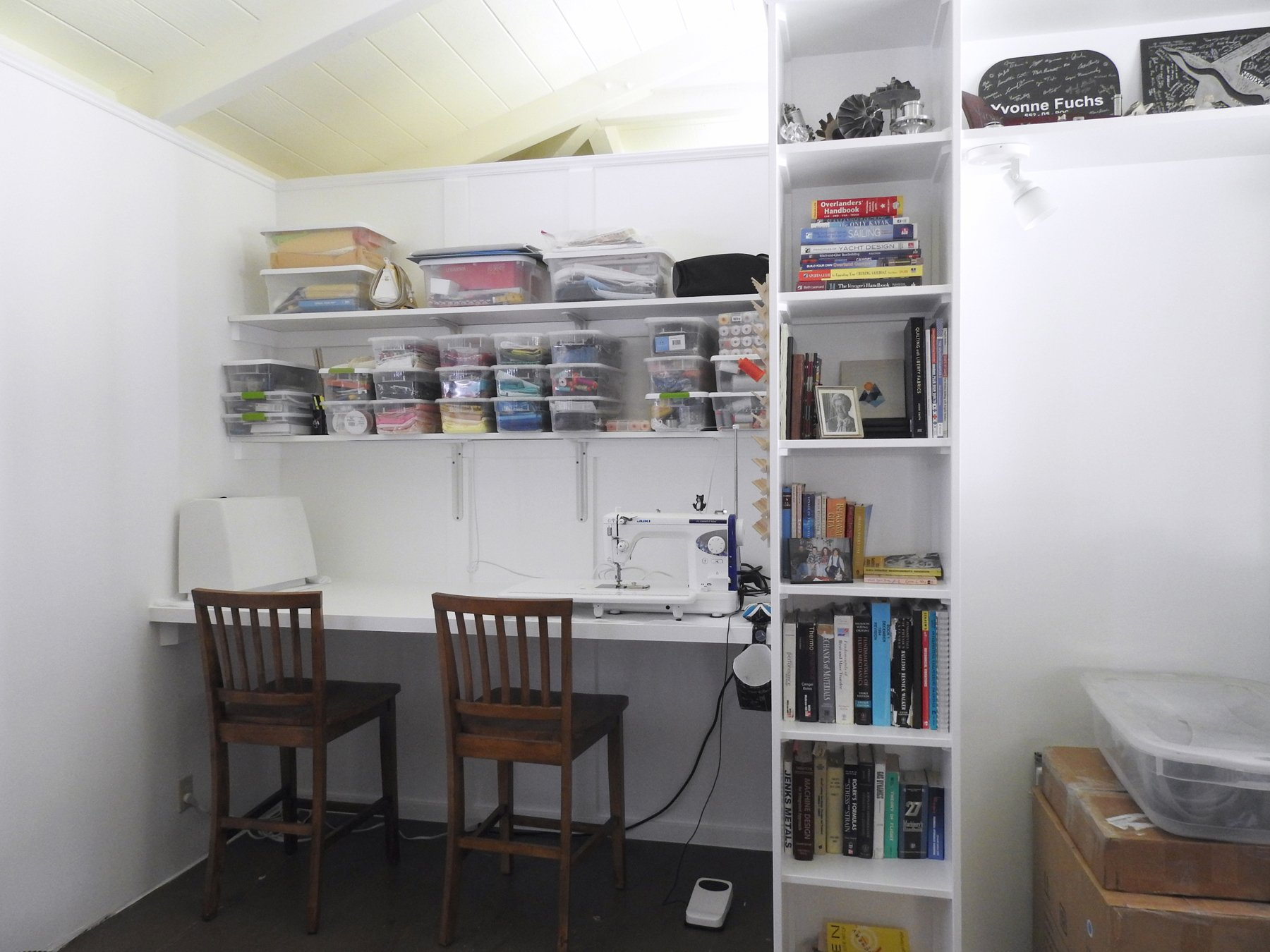 Sewing Space Unpacked