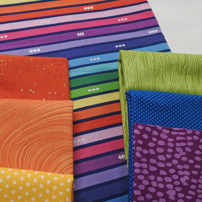 Bokeh QAL Fabric Pull