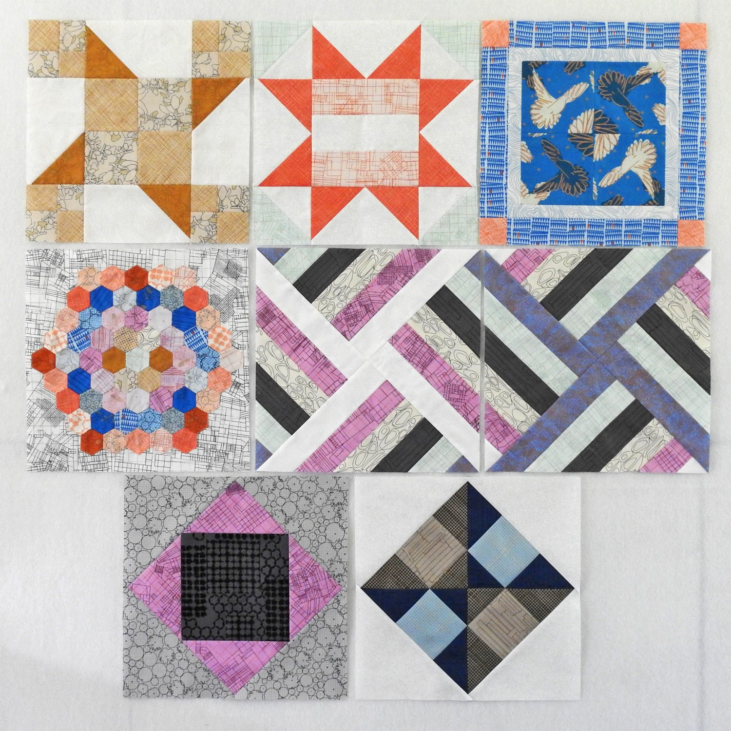 July Blocks - Old School Block of the Month