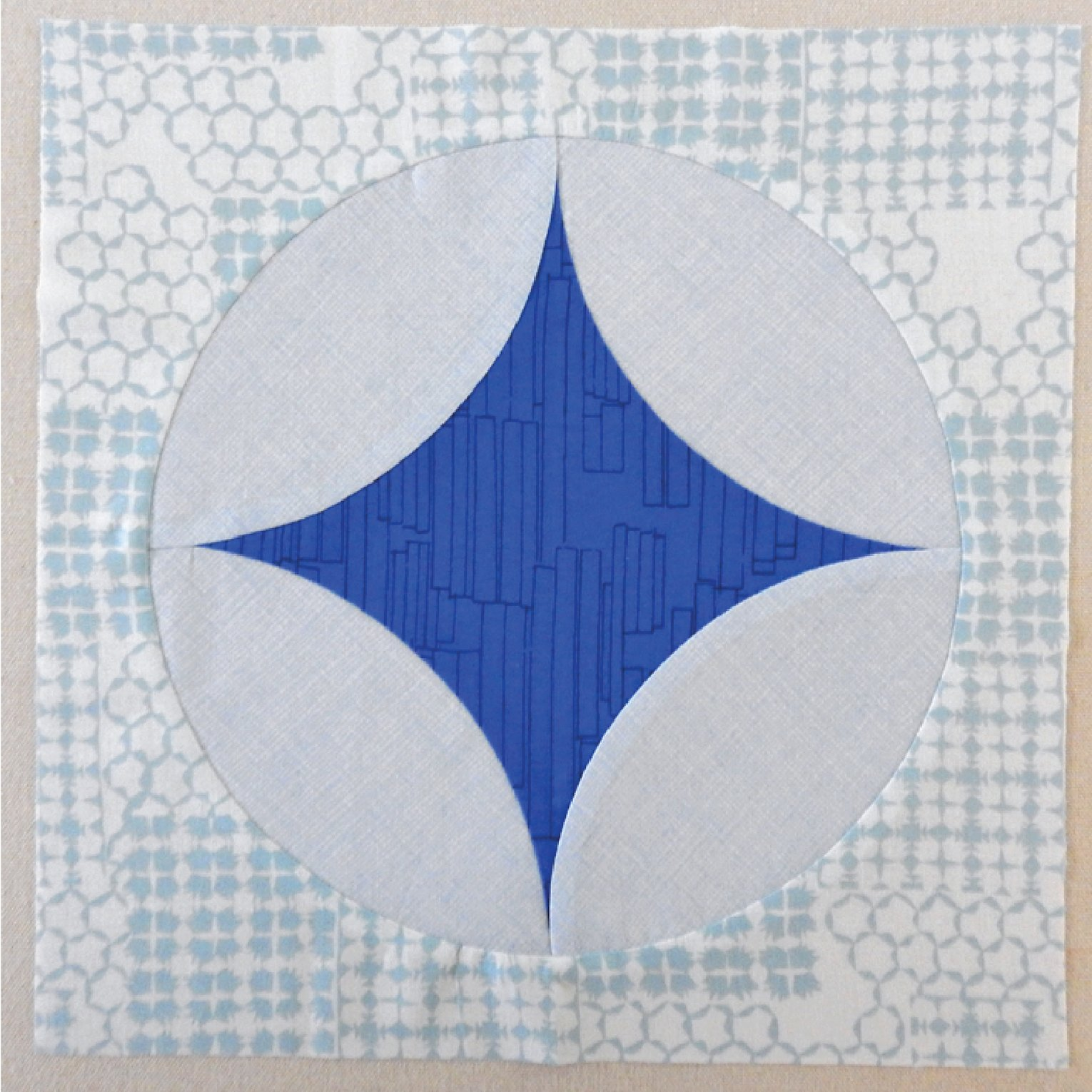 Cathedral Star Quilt Block