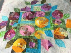 Paper Pieced and Machine Quilted