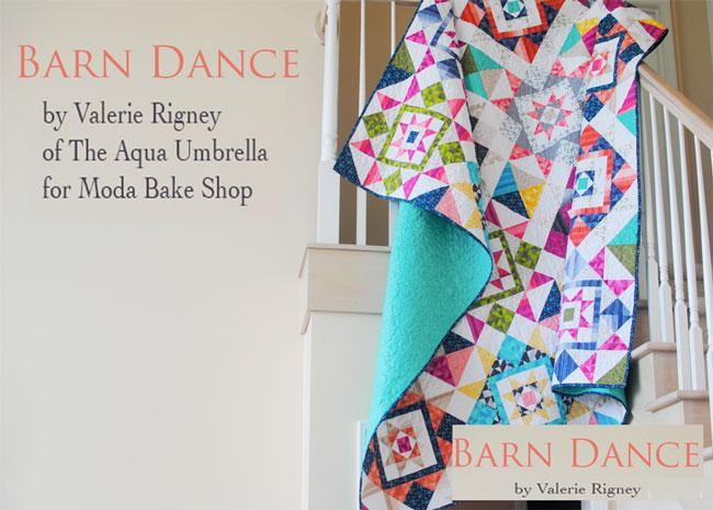 Barn Dance Quilt free pattern 1