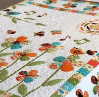 Secret Garden Trapunto Quilt Free Pattern by Joanne 2020