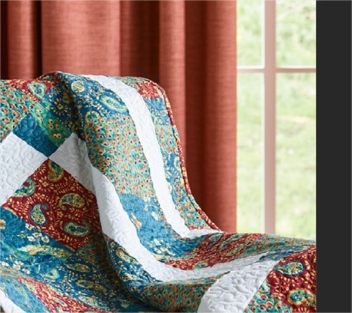 Peacock Lap Quilt Free Patterns