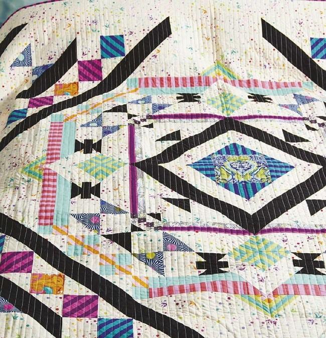 Quilt Confetti Colours Free Patterns