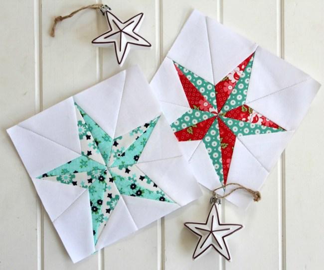 Quilt Block Christmas Star