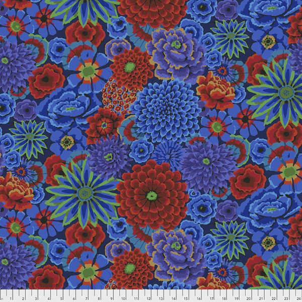 Kaffe Fassett Collective - Enchanted - Cobalt