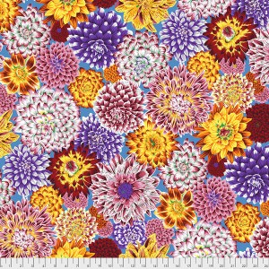 Kaffe Fassett Collective - Dancing Dahlias - Multi