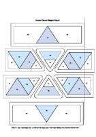 1 – Paper Pieced Magen David v2