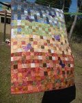 Bali Pop Quilt Finished