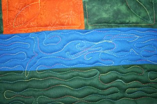 mermaid custom quilting