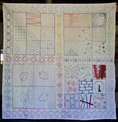 Machinaal Patchwork En Quilten.Machinaal Quilten Voor Beginners