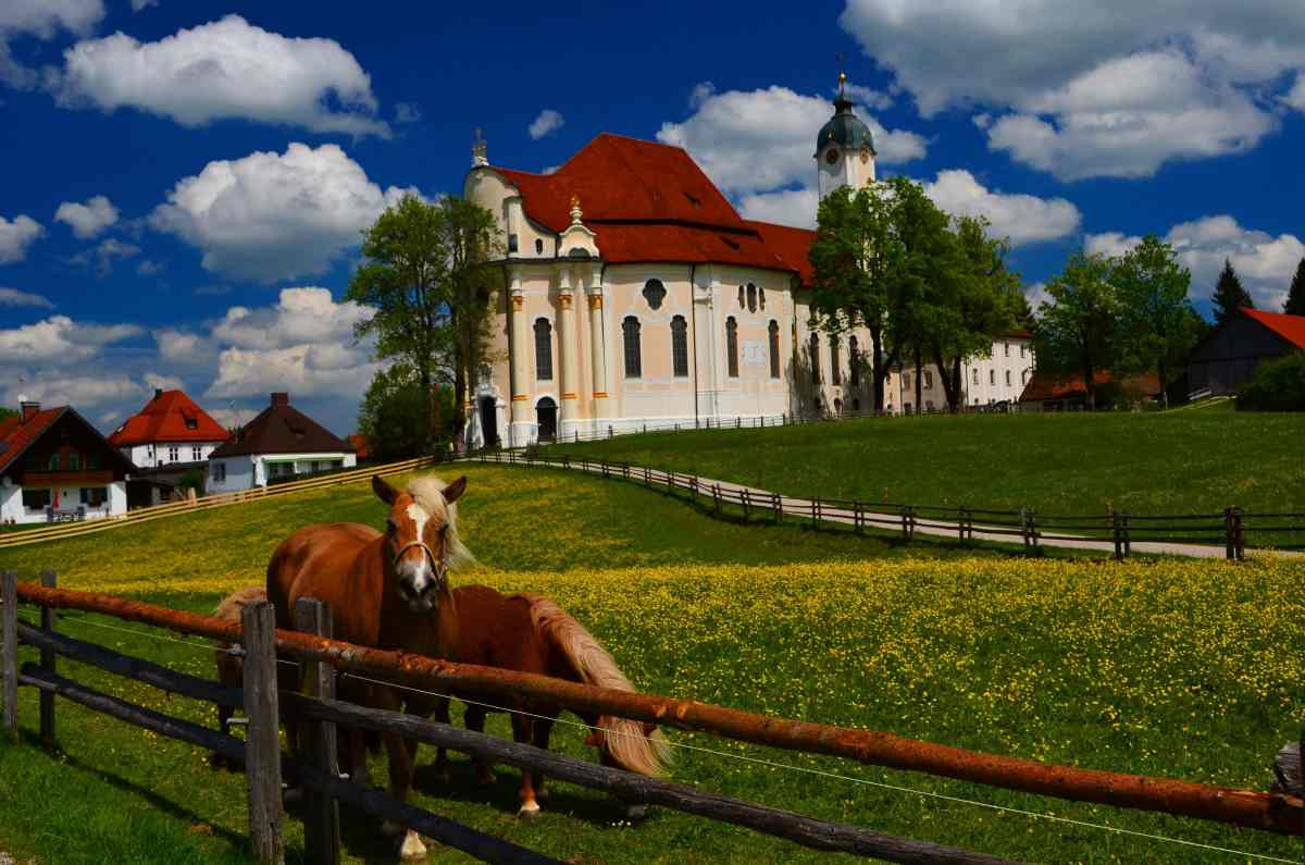 Bavaria's Wieskirche – The Pilgrimage Church of Wies in Photos