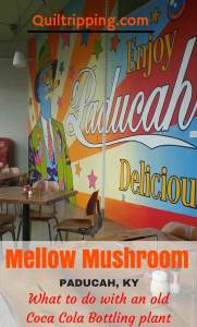 Mellow Mushroom in the old Coca Cola bottling plant in Paducah, KY #mellowmushroom #paducah #cocacolaplant