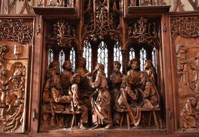 The Last Supper panel