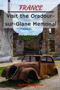 Learn about the martyred village of Oradour-sur-Glane near Limoge, France #france #limoge #WWIImemorial