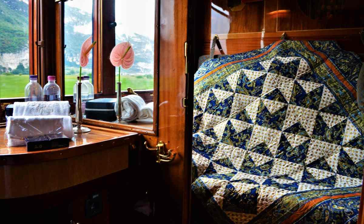 """Quilter on the Orient Express"" Original Quilt Design"