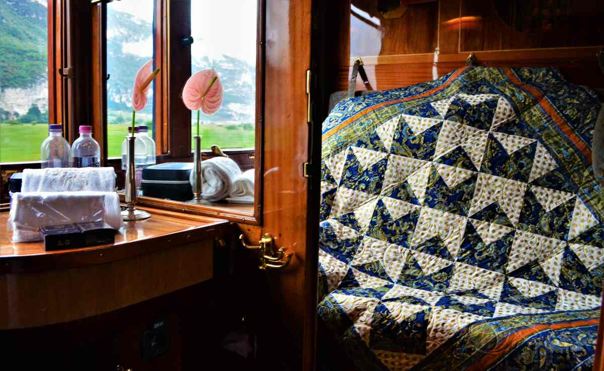 """Quilter on the Orient Express"" Original Quilt Design"