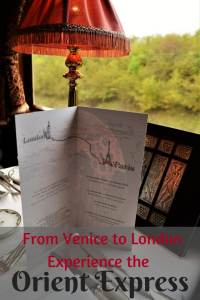 The Orient Express from Venice to London is a luxury experience like none other #oreintexpress #luxurytrain #train