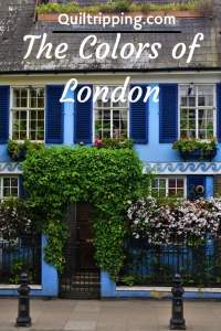 London is actually very colorful even if it has a reputation for drab and gray weather #london #londoncolors #explorelondon