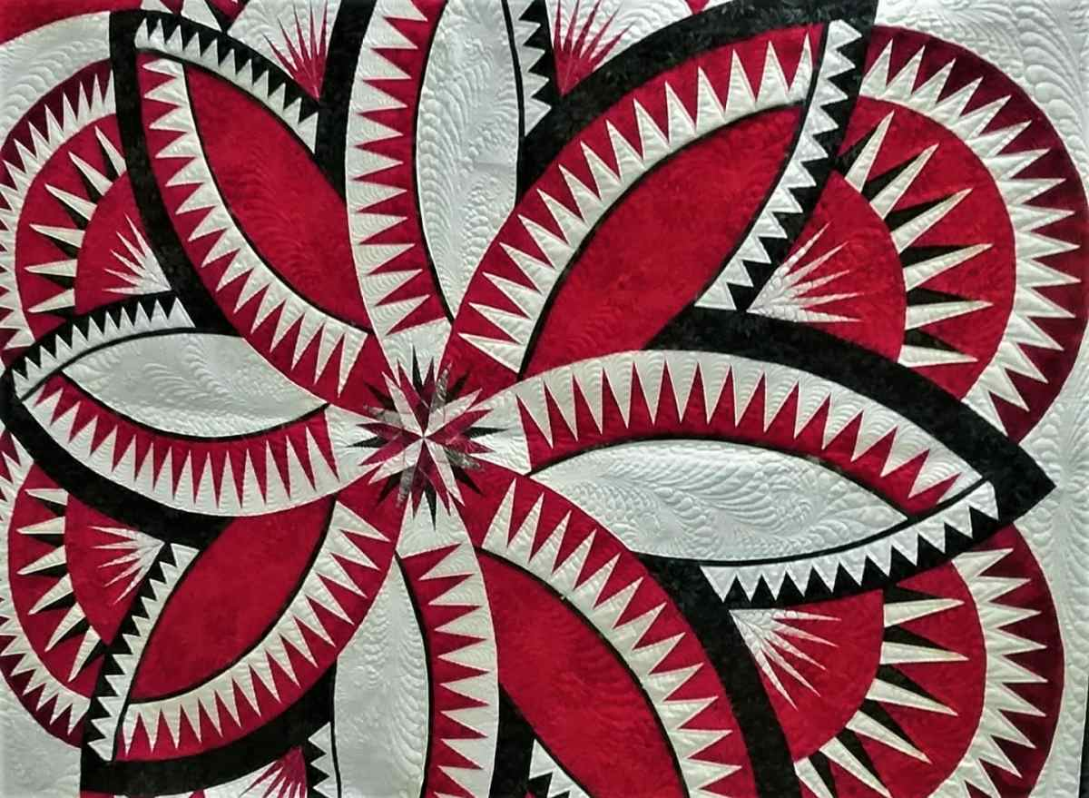 Learn Paper Piecing with Judy Niemeyer Classes at a Quiltworx Retreat in Kalispell, Montana