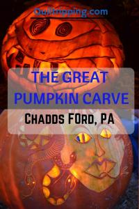 The Great Pumpkin Carve in Chadds Ford, PA #pumpkincarve #greatpumpkincarve