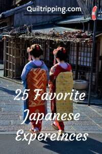 25 favorite japanese expereince