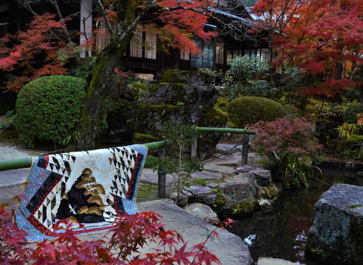 Kimono quilt design
