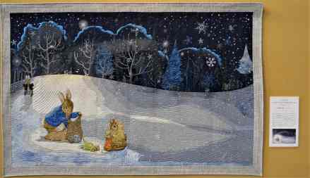 Peter Rabbit in Winter's Tale by Minori Ishida