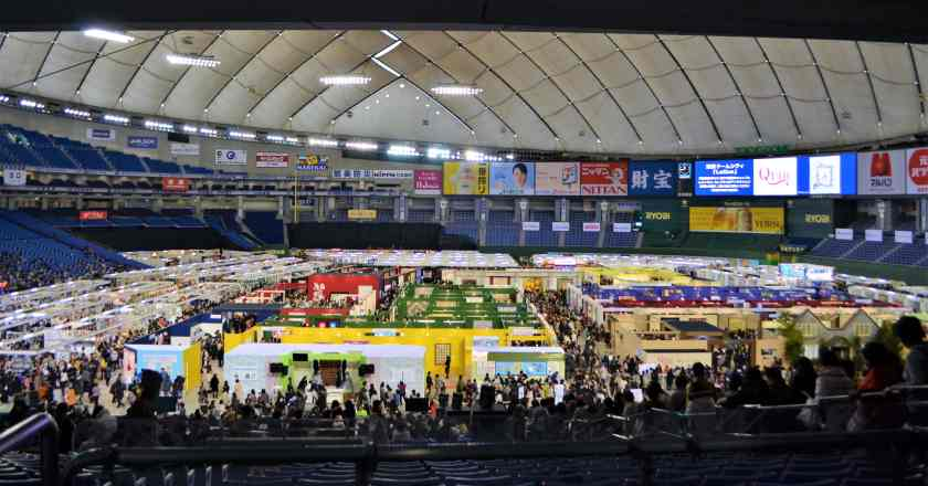 Tokyo International Quilt Festival at Tokyo Dome