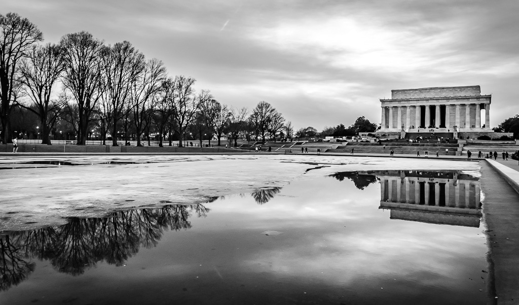 Washingotn DC photography in black and white