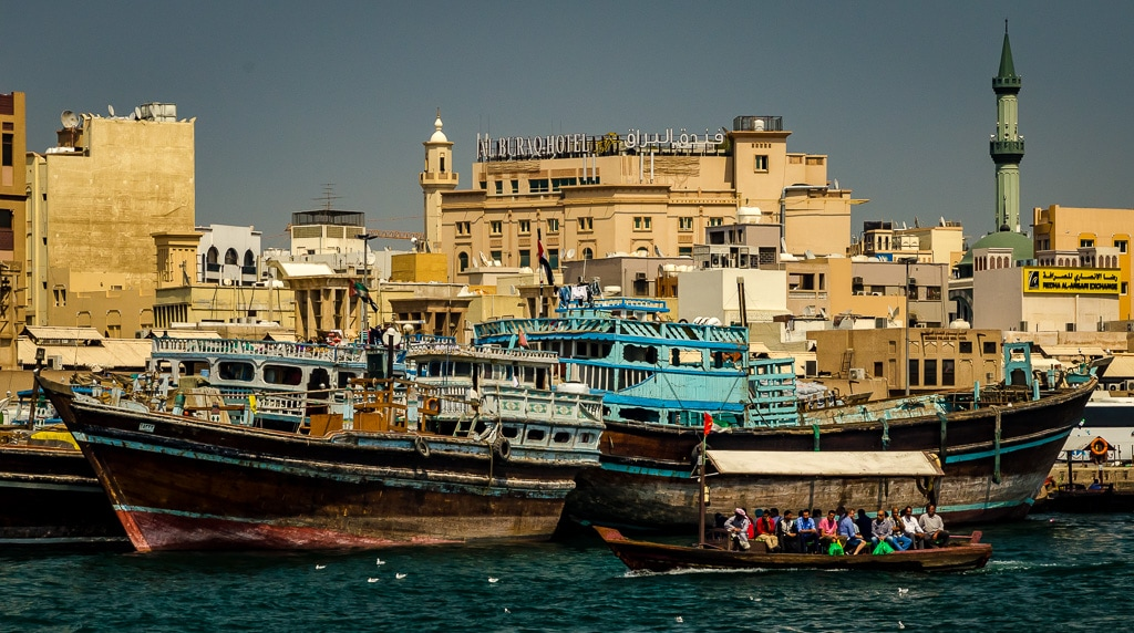 A glimpse of old Dubai on Dubai Creek