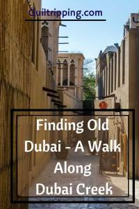 Explore the two sides of Dubai Creek to find old Dubai #dubai #dubaicreek #alfahidi #abra #goldsouk