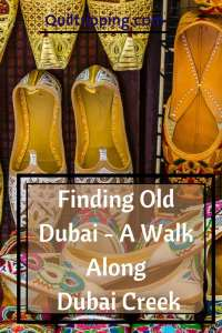 Find old Dubai on a walk along Dubai Creek #dubai #dubaicreek #alfahidi #abra #goldsouk