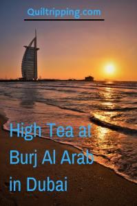 high tea at Burj AlArab , Dubai