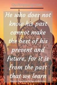 Sheikh Zayed quote