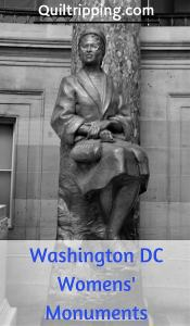 A list of the Women's monuments and sculptures in Washington DC  #washingtondc #womwnsmonuments