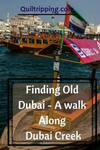 Take a walk along Dubai Creek to find old Dubai #dubai #dubaicreek #alfahidi #abra #goldsouk