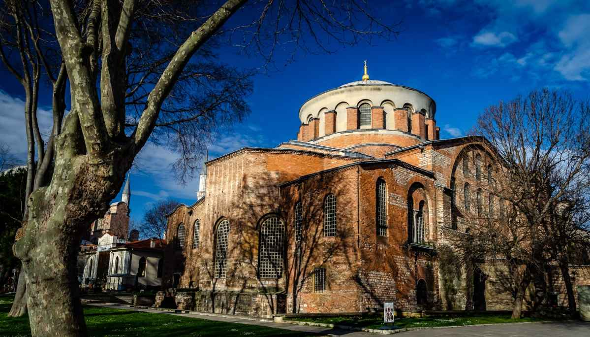 Istanbul's Hagia Irene - A Step Back in Time