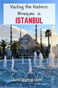 Visit Istanbul's many Historic Mosques #istanbul #istanbulmosques #turkey