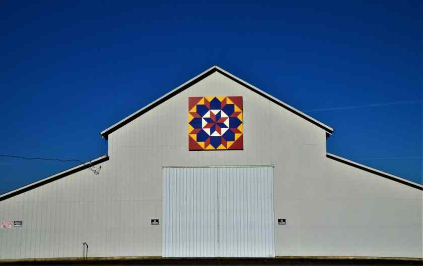 One of the 50+ decorated barns on the Tualatin Valley Quilt Barn Trail